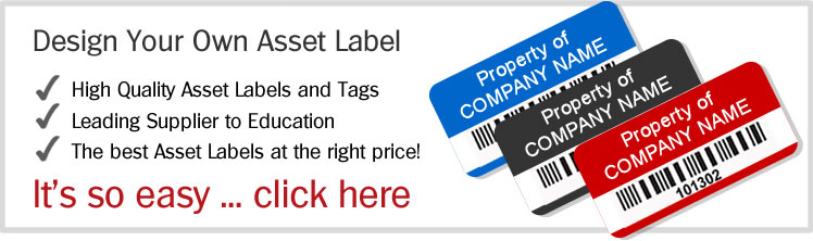 Asset Label - design your own