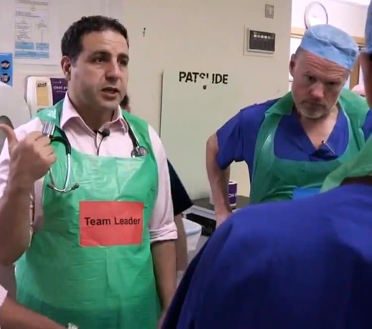 Trauma Team Labels for NHS