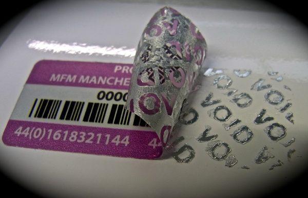 security label, equipment label