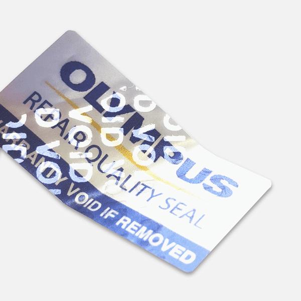 Warranty Labels – Rectangular