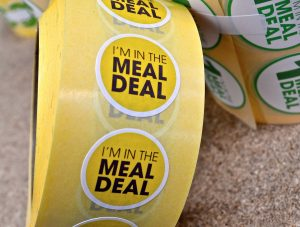 Meal deal labels