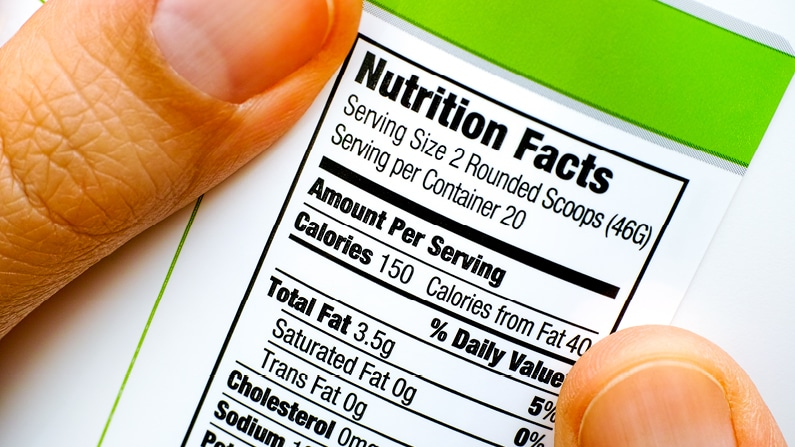 Food Labelling and Changes in Legislation