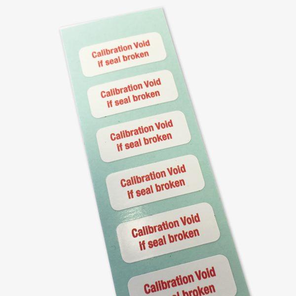 Calibration void ultra destruct label