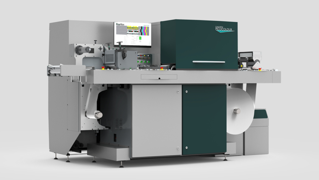 Custom Labels invests in new state-of-the-art Dantex PicoColour UV Press