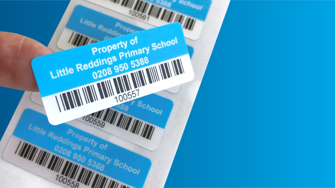 QR and Barcode stickers for all applications