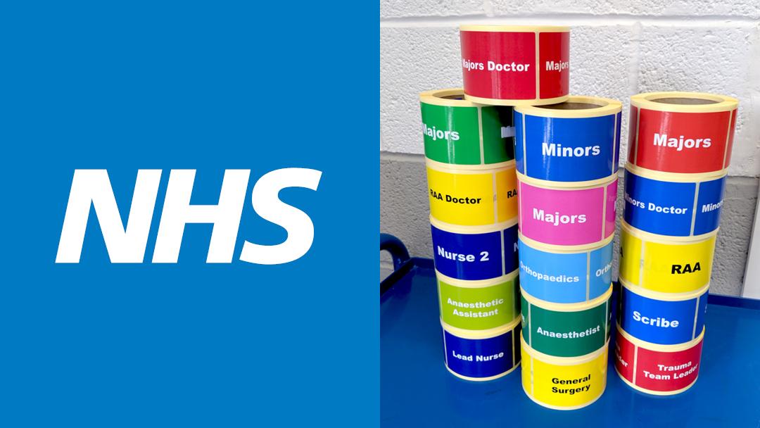 Hampshire Hospitals NHS Foundation Trust Trauma Identification Labels