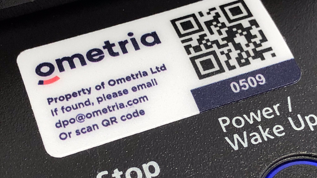 Why it's important for businesses to use company logo's on asset labels